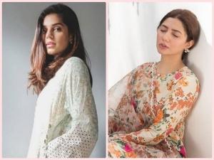 Mahira Khan And Sanam Saeed Kurta Sets On Instagram