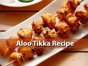 Aloo Tikka Recipe At Home