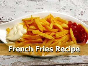 French Fries Recipe At Home For Iftar