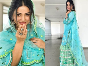Take Eid Outfit Inspiration From Hina Khan