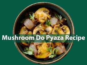How To Make Mushroom Do Pyaza At Home