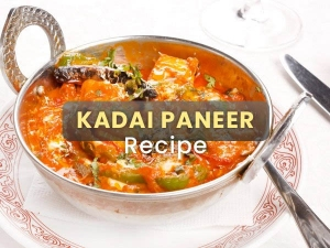 Kadai Paneer Recipe At Home