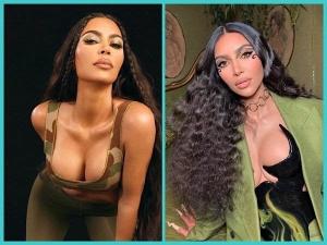 Kim Kardashian Dramatic And Glam Makeup Looks
