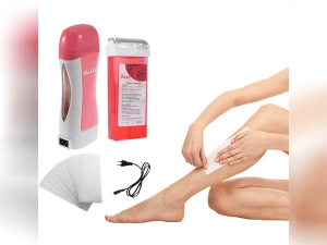 Use Roll On Waxing To Remove Unwanted Hair Without Pain In Hindi