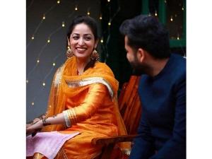Yami Gautam Orange Suit For Mehendi Made Us Think Of Deepika Padukone Orange Suit