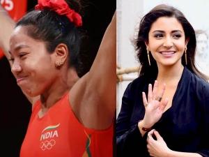 Anushka Sharma Loves Mirabai Chanu Olympics Earrings In Tokyo Olympics