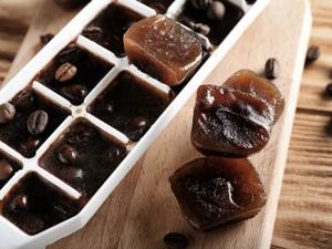 Coffee Ice Cubes For Glowing Skin In Hindi