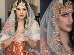 Hairstyles On Sharara For Eid Festival