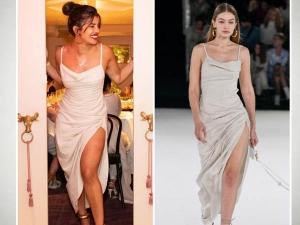 Priyanka Chopra Or Gigi Hadid Who Pulled Backless Dress Better In Hindi