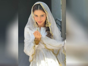 Take Ideas From Aamna Sharif S Beautiful Sharara Suit For Eid Occasion