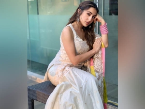 Sara Ali Khan Best Sharara Look For Raksha Bandhan