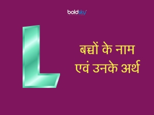 Hindu Baby Boys Names With Letter L And Meaning