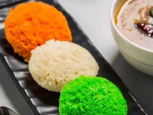 Easy Tricolour Idli Recipe For Independence Day In Hindi