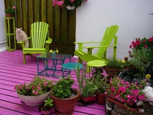 Creative Use Of Bamboo Coconut Shell Etc For Terrace Gardening At Home In Hindi
