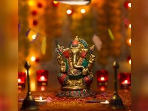 Ganesh Chaturthi Puja Place Decoration Ideas In Hindi