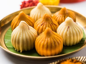 Easy Sabudana Modak Recipe For Ganesh Chaturthi In Hindi