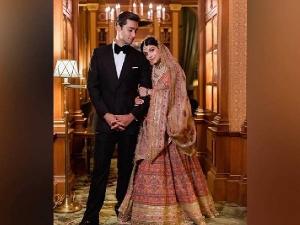 Pak Pm Nawaz Sharif Grandson Daughter In Law Wore Sabyasachi Lehenga