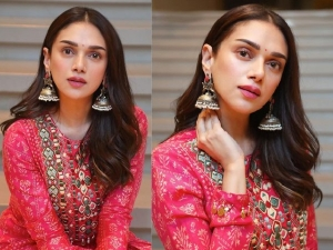 Take Makeup And Fashion Inspiration From Aditi Rao Hydari On Karwa Chauth In Hindi