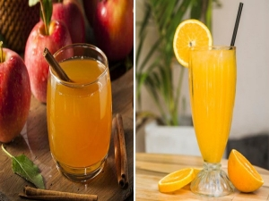 Orange Juice Vs Apple Juice Which Is Better For Health In Hindi
