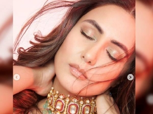How To Do Metallic Eye Makeup At Home In Hindi