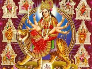 नवरात्रि पर कौन से दिन होती है किस देवी की पूजा