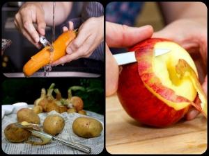 सेब हो या आलू, छिलके समेत खाएं ये फल और सब्जियां